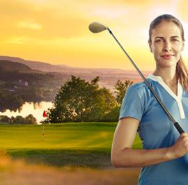 Golfclub Haßberge e.V. in Steinbach/Ebelsbach - 4 Clubs - Eine Mitgliedschaft
